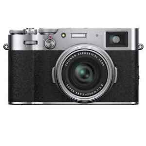 Fujifilm X100V 26.1 MP Compact Digital Camera - Silver