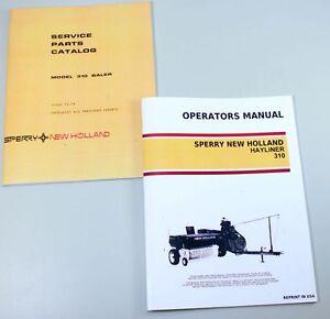 set sperry new holland 310 hayliner baler owners operators. Black Bedroom Furniture Sets. Home Design Ideas