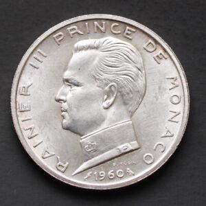 Piece-Argent-Monaco-5-Francs-Rainier-III-1960-12-grammes