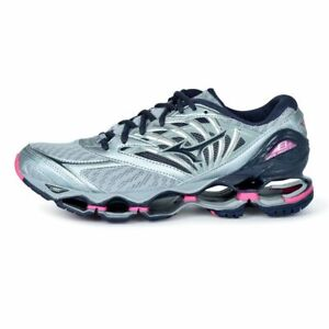 Mizuno-Wave-Prophecy-8-Women-039-s-Running-Shoes-Quarry-Graphie-Pink-J1GD190053-18N