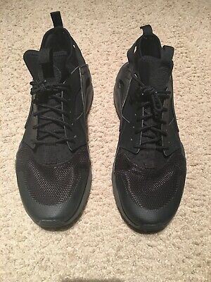 Nike Air Huarache Run Ultra Men's Size 12 Black | eBay