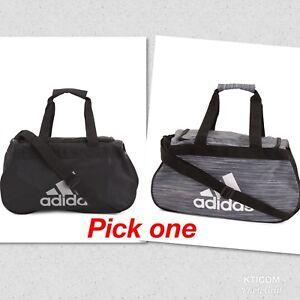 84232aa0f337 NWT ADIDAS Diablo Small II HEX Print Duffel Gym Bag Travel Bag ...