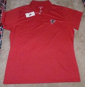 8d9448a40 NEW ANTIGUA NFL Atlanta Falcons Golf Polo Shirt Women Ladies XL X ...