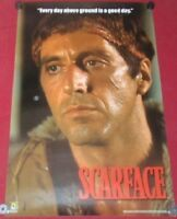 Scarface Poster 22x34 Reproduction Scorpio 1008 every Day Above Ground Is