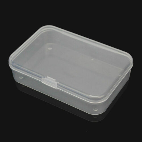 Mini Plastic Storage Box Playing Cards Case Business Card Holder Card Boxes DECO