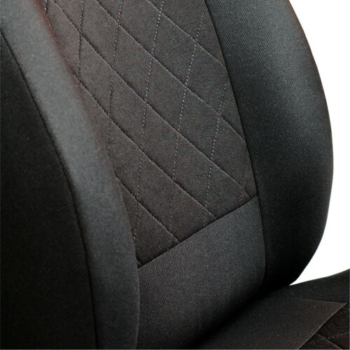 CAR SEAT COVERS FOR CHEVROLET EQUINOX FRONT SEATS BLACK