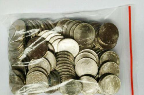 Colombia 50 Pesos 2016 Bear Steel 17mm COINS LOT ALL UNC 100PCS