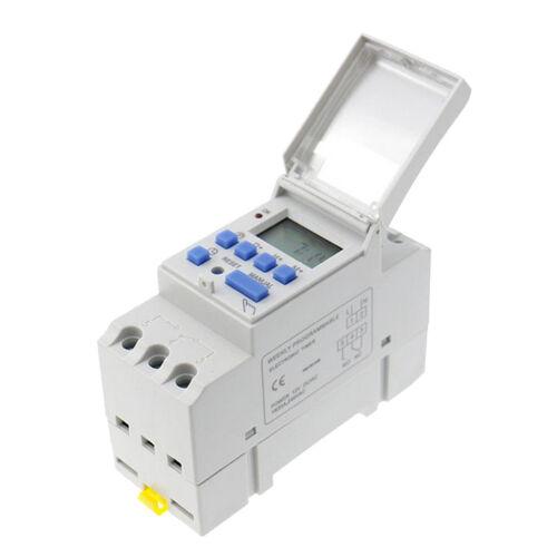 DC 24 V Digital LCD Leistung Programmierbare DIN Timer Zeitschaltuhr Relais