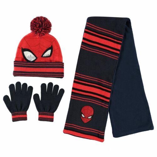 Character Knitwear 3 Piece Set Childrens Winter Warm Stamp