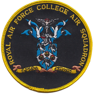Royal Air Force College Air Squadron Embroidered Patch