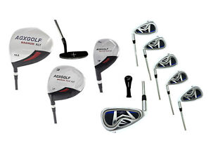 AGXGOLF-BOYS-LEFT-HAND-TEEN-MAGNUM-COMPLETE-GOLF-CLUB-SET-wDRIVER-IRONS-PUTTER