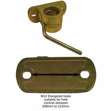 AB Tools-Maypole 48mm Heavy Duty Cast Clamp for Jockey Wheels and Prop Stands TR021 Ribbed