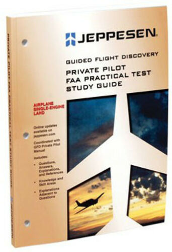 Jeppesen Private Pilot PTS Study Guide 10001390-001 FREE SHIPPING