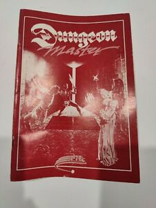 Dungeon Master Atari ST 1987 FTL Games red Manual Only NO GAME