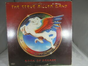 THE STEVE MILLER BAND BOOK OF DREAMS RECORD 1977 CAPITOL SO-11630 VG+ cover VG+