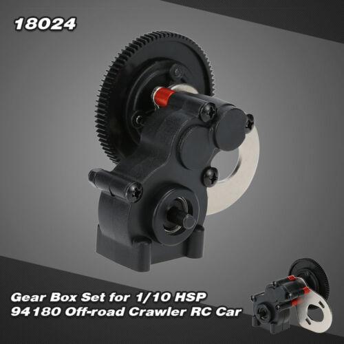 18024 Gear Box Set for 1//10 HSP 94180 Off-road Crawler RC Car NEW B0N5