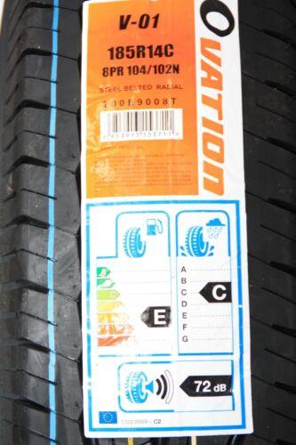 Komplettrad Rad 185R14-C 185 R 14 C 104//102N Wohnwagen Tabbert Hobby Knaus NEU