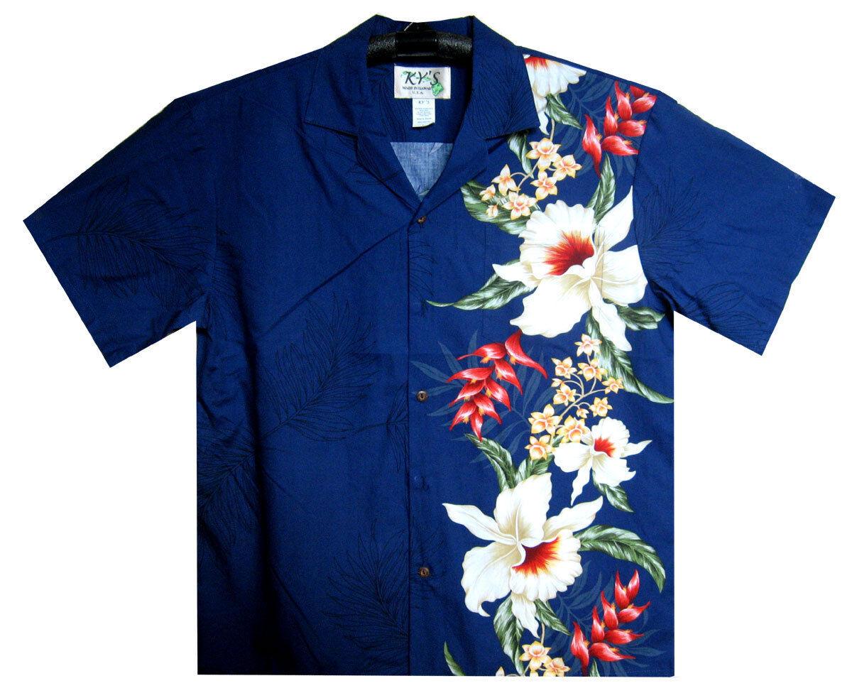 Ky 'S ORIGINALE Camicia Hawaii, wedding Multi, rosso, blu, nero, s-6xl