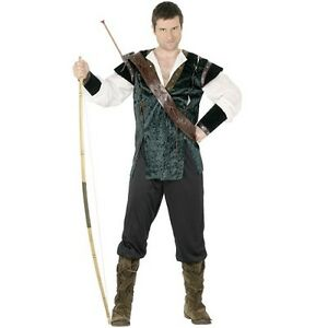 da-uomo-adulti-costume-da-Robin-Hood-Nuovo-Da-Smiffys
