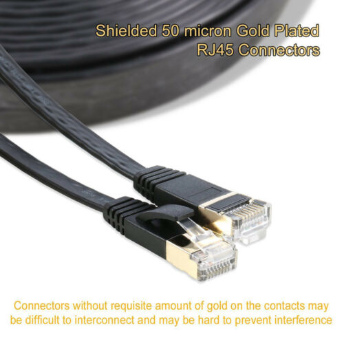 Cat 7 Plug Double Shielded STP Wires RJ45 Ethernet Cable 3M 3M 8M 15M 20M LOT