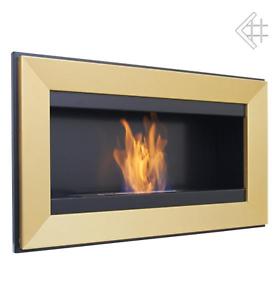 bio ethanol kamin charlie gold wandkamin deko bioethanol. Black Bedroom Furniture Sets. Home Design Ideas