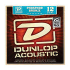 JIM DUNLOP ACOUSTIC GUITAR STRING SET LIGHT 12-54 PHOSPHOR BRONZE STRING SET