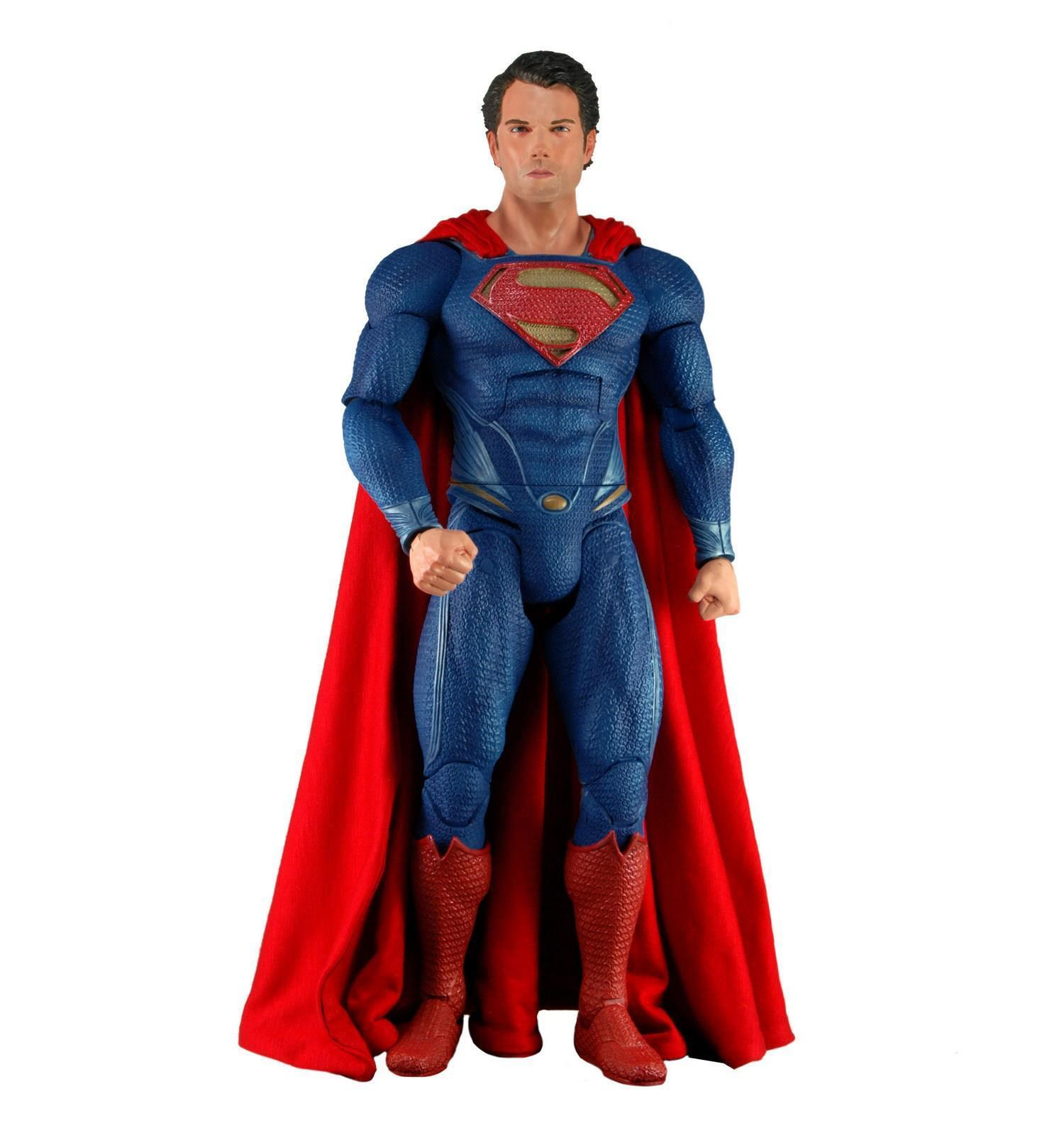 SUPERMAN - Man of Steel Movie 1/4 Scale Action Figure (NECA)  NEW