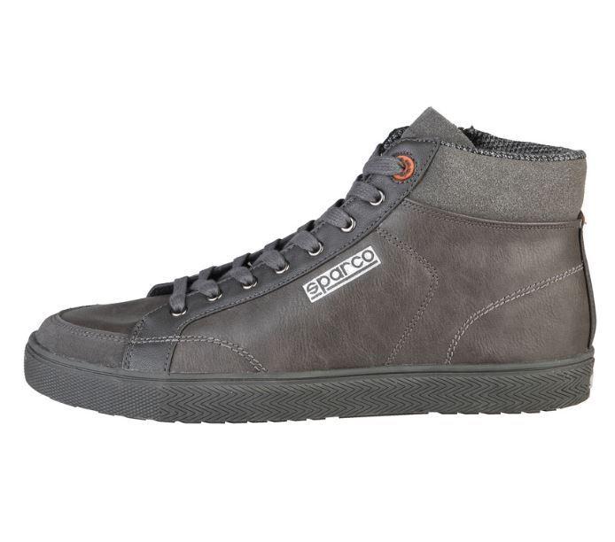 Sparco Hilltop shark grau Leder Herren Schuhe Hightop Sneaker alle Größen