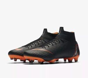 separation shoes 0b6df e0ace Details about Nike Mercurial Superfly 6 VI PRO FG Soccer Cleats ACC Black  Orange AH7368-081