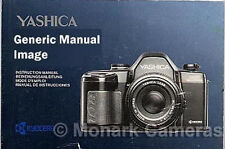 Original Yashica T4 & T4D Camera Instruction Sheet, More Manauls & Books Listed