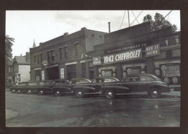 REAL PHOTO PARKERSBURG WEST VIRGINIA 1942 CHEVROLET CAR ...