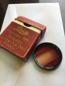 Leica-Fnooy-Red-Filter-For-50mm-F2-Summar-Boxed