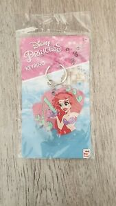 DISNEY-PRINCESS-KEYRING-ARIEL-BELLE-OR-CINDERELLA-PLEASE-CHOOSE-BRAND-NEW