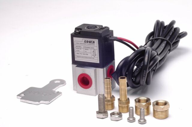 HDi ce solenoid compatible HDi Solenoid Valve kit 3 way  incl bracket