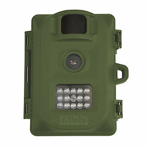Primos Bullet Proof Cam HD Infrared Game Camera 6 Megapixel OD Green, 63053