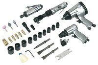 Sealey Air Tool Kit 4pc With Accessories Sa2004kit