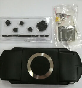 New-Black-For-PSP1000-PSP-1000-Console-Full-Housing-Shell-Case-Repair-With-Parts