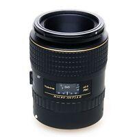 Tokina At-x Pro D 100mm F/2.8 Macro (canon Ef) W/hoya Uv Filter