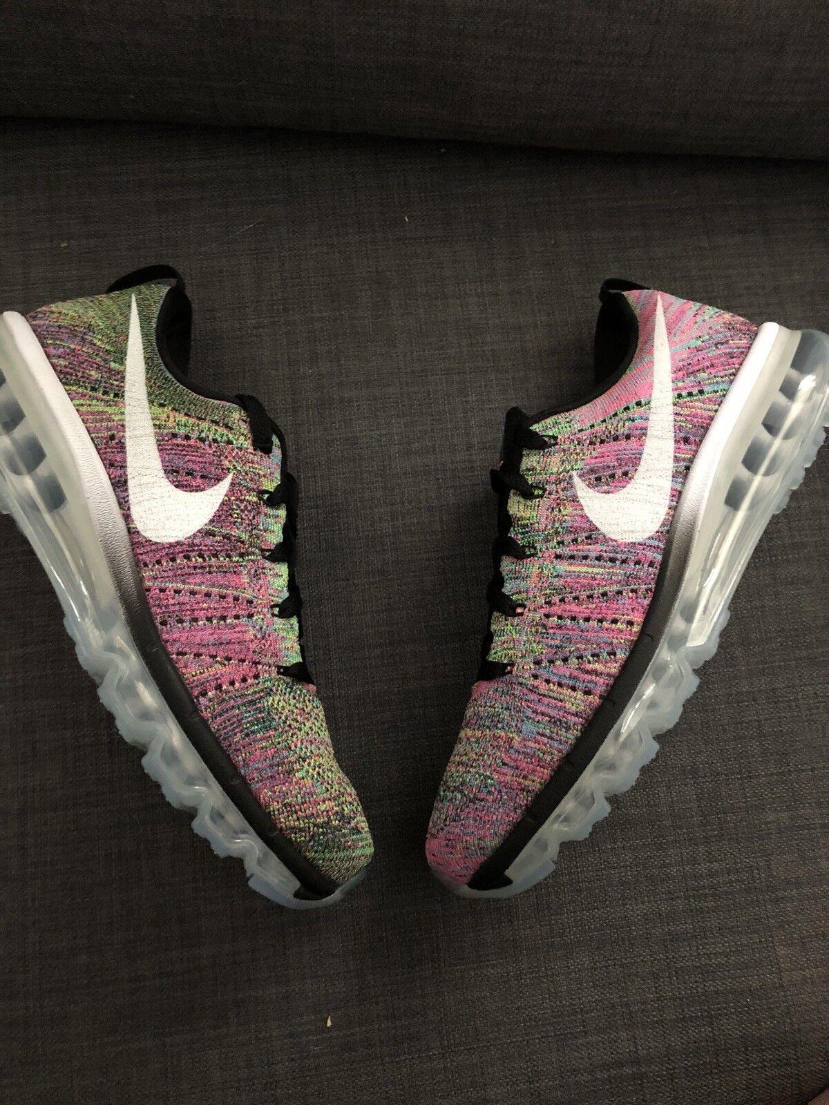 Nike Air Max Flyknit mc Multi color Pink vapor 620659-004 womens 9.5 Men 8 new