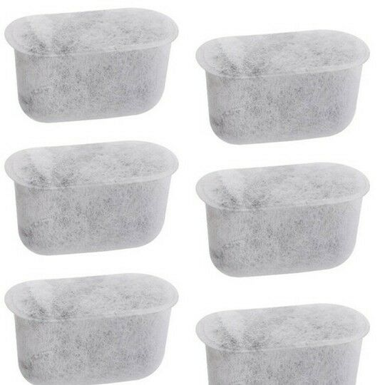 6 Charcoal Water Filters For Cuisinart And John Lewis Coffee Machines Uk Based