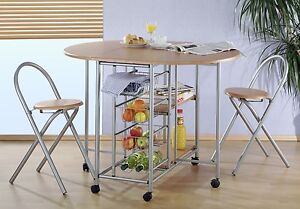 Tavolo da cucina con Sedie pieghevoli | eBay
