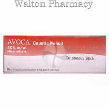 Avoca CAUSTIC PENCIL WART & VERRUCA TREATMENT silver nitrate stick pharmacy 40%