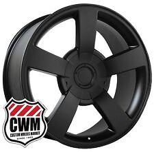 """(1) 20 inch 20x8.5"""" OE Performance 112B Chevy Silverado SS Wheel Matte Black Rim"""