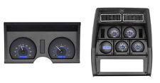 1978-82 Corvette Carbon Fiber & Blue Dakota Digital VHX Analog Gauge Kit