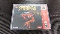 Spider-man Nintendo 64 N64 Case With Free Artwork No Game
