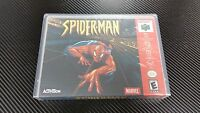 Spider-man Nintendo 64 N64 Case With Free Artwork No Game