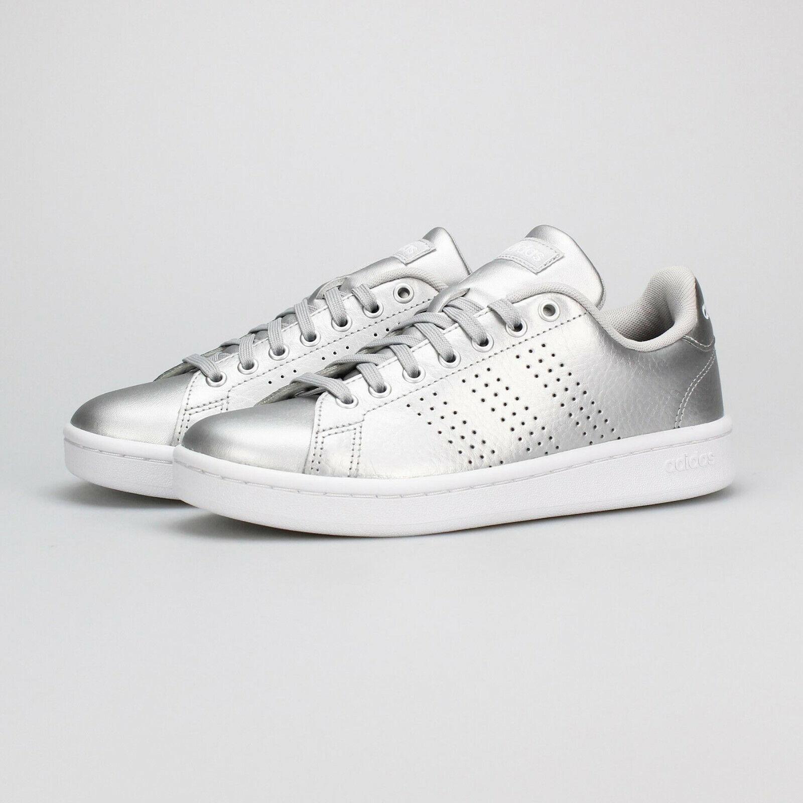 Adidas Damen Freizeitschuhe Turnschuhe Mode Essentials Vorteil Silber EE8197