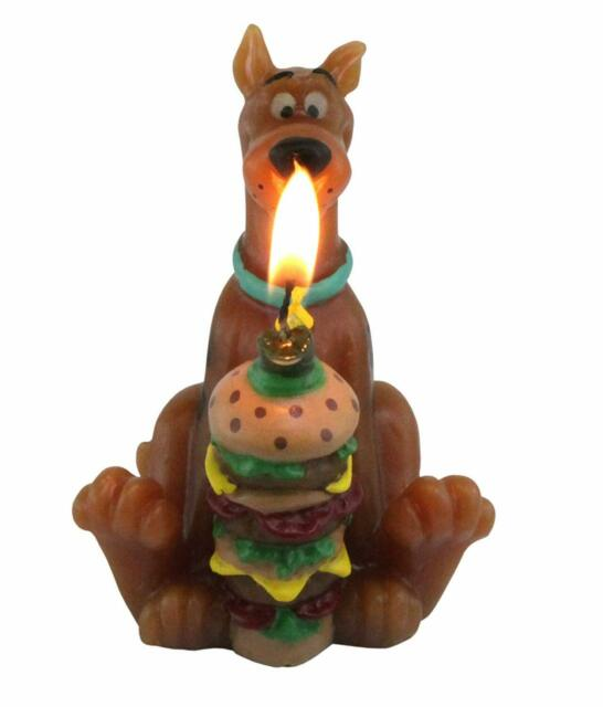 Scooby Doo Candle cake topper 2.75 inch tall new Party Decoration Free Shipping