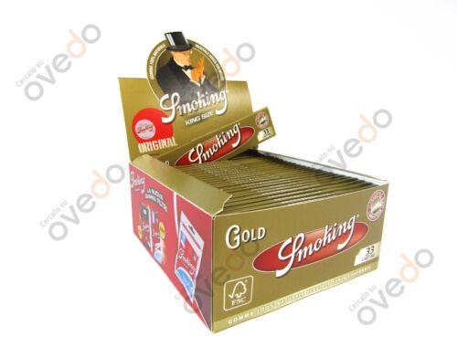 SMOKING ORO GOLD Cartine Lunghe King Size