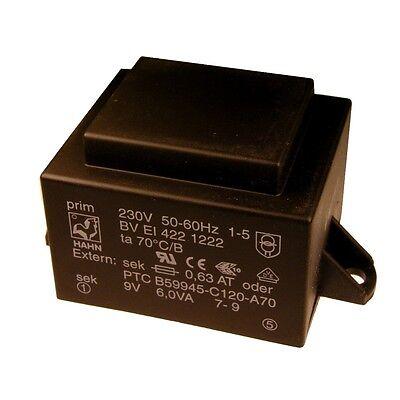 HAHN BVEI3032035 Print-Trafo 1,9VA 230V 2x6V 2x158mA Transformator 856449